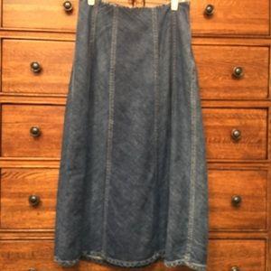 Dana Buchanan Denim Skirt
